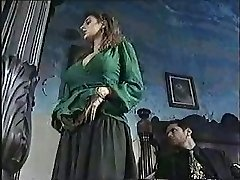 Sexy chick in old school pornography movie 1