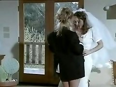 Girl-on-girl fuck-fest after marriage.