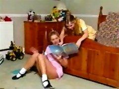 Antique clean-shaven lesbians