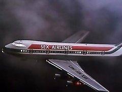 Alpha France - French porno - Full Movie - Les Hotesses Du Sexe (1977)