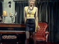 Buffalo position - vintage skinny blondie strip dance