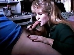 QueenMilf Vintage SUCK OFF 1996 with guzzle (Full)