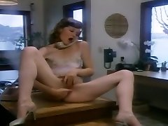 Hypatia Lee Sucks A Salami In The Office