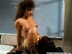 College slut getting penetrated on instructos desk