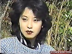 Hot Japanese vintage poking