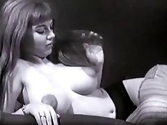 Vintage Meaty Tits Boobs Puffy Nipples Bush