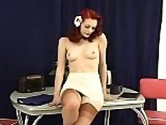 Justine takes it off. More on UsHotCams.com