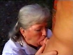 Young beefcake for noisy grandmother - vintage