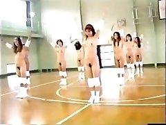 עירום יפנית גימנסיון (רטרו)