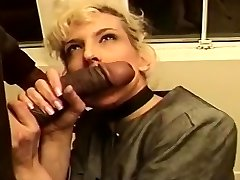 Mature Blond Creamed In Her Tight Caboose