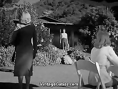 Hot Women in the Nudist Resort
