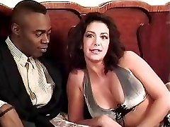 Sophia Ferrari Sean Michaels interracial anal italian brunette classic vintage retro doggie-style