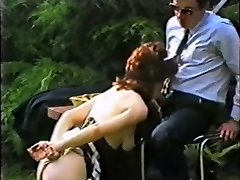 Submissive gimp maid booty distroyed