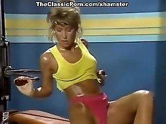 Melissa Melendez, Taija Rae, Candie Evans in old-school porn