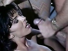 Anna Malle - Black-haired pulverized in the Bar