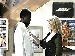 Retro Interracial Blond Porno 1