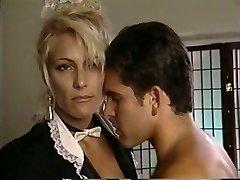 TT Boy spills his wad on towheaded milf Debbie Diamond
