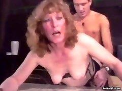 Retro Granny Ass Fucking
