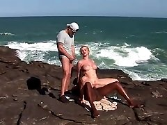 Tarra Milky Seaside DOUBLE PENETRATION