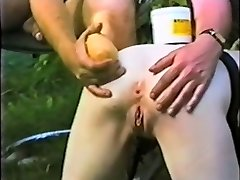 Servant slave maid butt distroyed