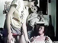 Vintage Wooly French Teenage Girl Has Sex