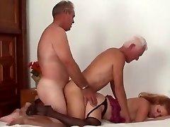 Mature Ac/dc Couple Threesome