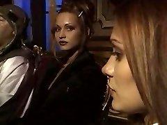 Old School italian schoolgirls Trio