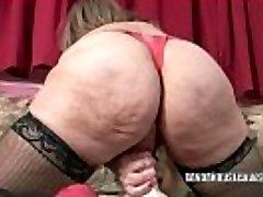 Mature super-bitch Sandie Marquez stuffs her pussy with a toy
