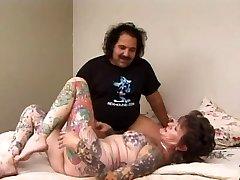 Ron Jeremy & Tat Sue