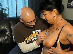 Xxx OMAS - German brunette grannie Jenny K. likes it rough
