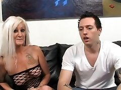 Warm Tattooed Busty Blonde Cougar Lana Phoenix