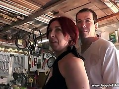 Three manhood for redhead whore