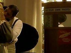 Platinum-blonde Maid Zana Does Chores On Her Back
