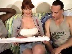 Big tits mature bbc orgy