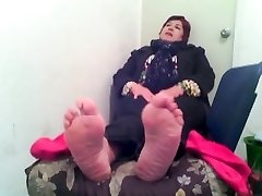 pies de anciana mexicana