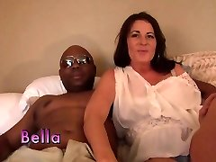 Best pornstar in horny mature, multiracial gonzo clip