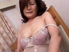 Mature Japanese Masturbation