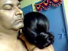 Handsome Homemade Indian Mature Hairy Couple Have Awesome Hookup