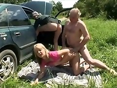 Fabulous Homemade clip with Three-way, Mature episodes