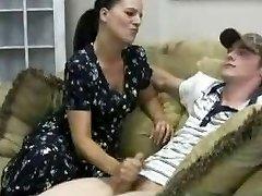 Stacey's Mummy - Veronica Cfnm Handjob