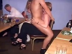 British Nymphs at CFNM Stripper Party-Part1