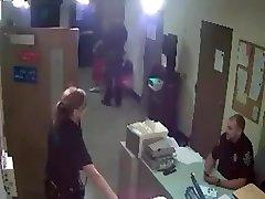 mature female cop humilates man