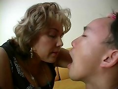 French Mature Mistress and her Sub