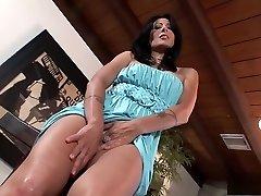 Astounding pornstar Zoey Holloway in horny solo, masturbation porn movie