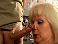 French light-haired mature fucked at the hookup shop