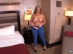 Ginger gets thick rump fucked POV