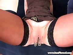 I am Pierced marina with 15 cootchie rings anal orgy