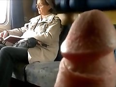 Train Dick Demonstrate To Mature - With Cum