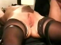 submissive mature cunt whipping by WF