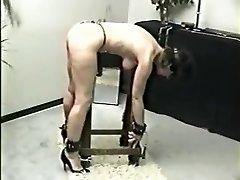 Incredible homemade BDSM, Spanking hookup video